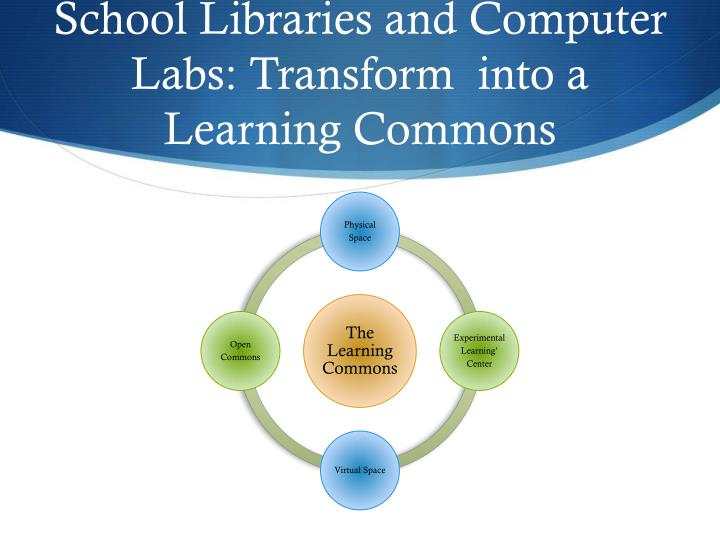 School Libraries and Computer Labs: