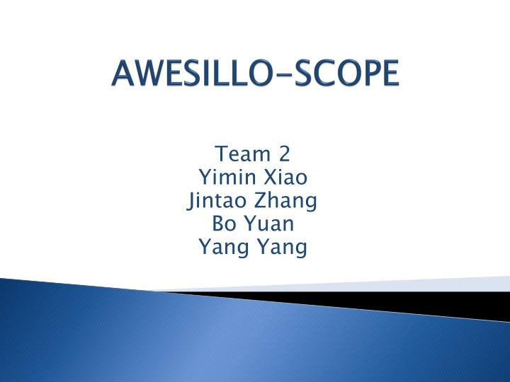 Awesillo scope