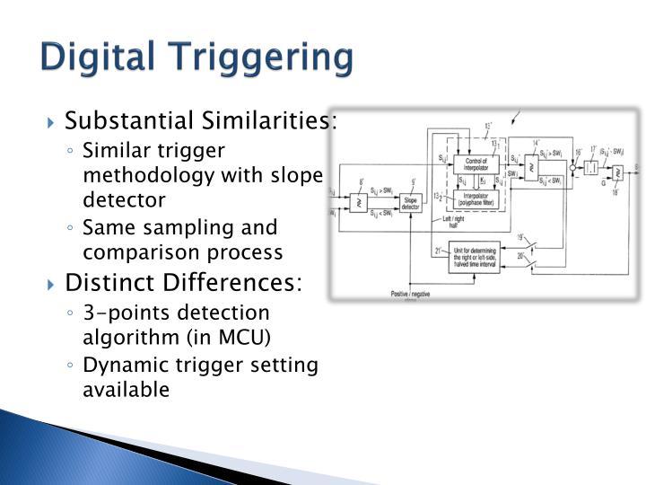 Digital Triggering