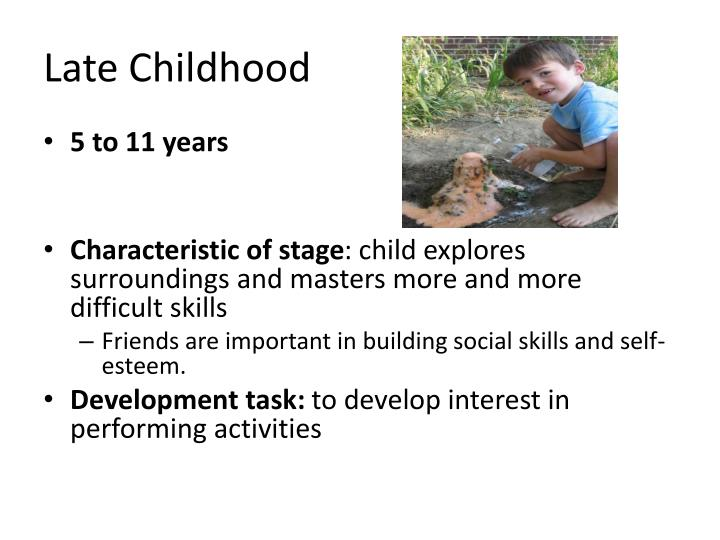 Late Childhood