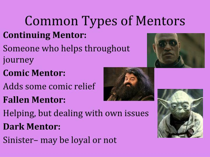 Common Types of Mentors