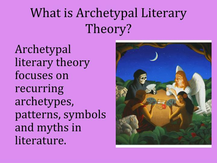 What is archetypal literary theory