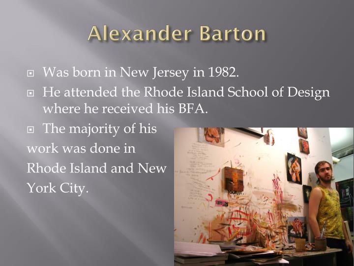 Alexander Barton