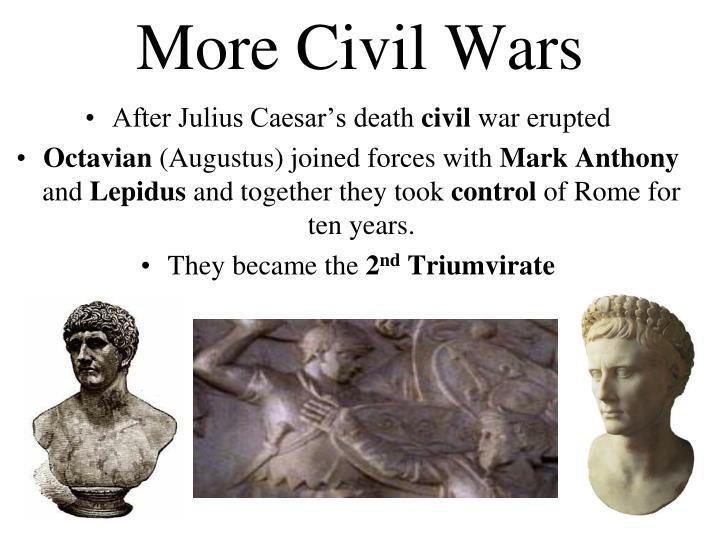More Civil Wars