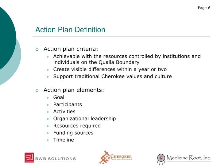 Action Plan Definition