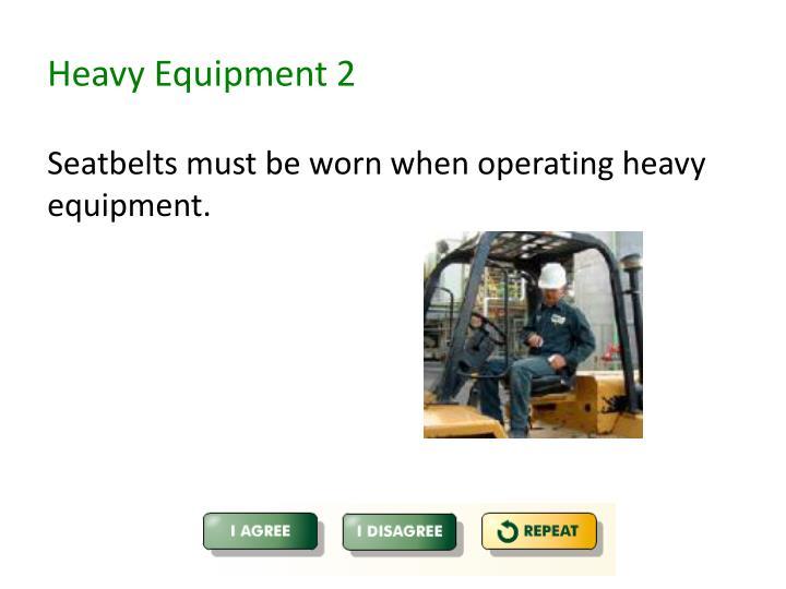 Heavy Equipment 2