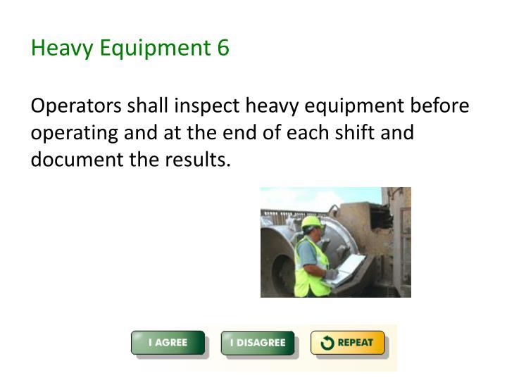 Heavy Equipment 6
