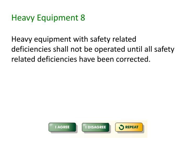 Heavy Equipment 8