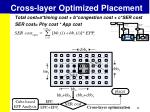 cross layer optimized placement1