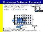 cross layer optimized placement2