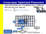 cross layer optimized placement3