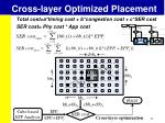 cross layer optimized placement4