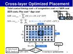 cross layer optimized placement5