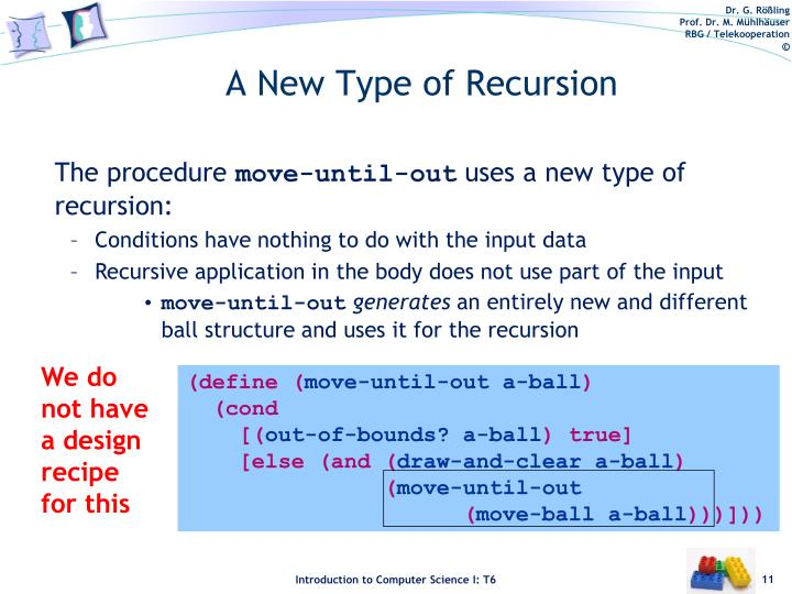 A New Type of Recursion