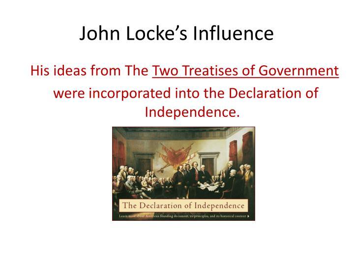 John Locke's Influence