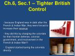 ch 6 sec 1 tighter british control2