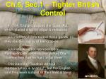 ch 6 sec 1 tighter british control3