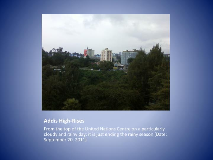 Addis High-Rises