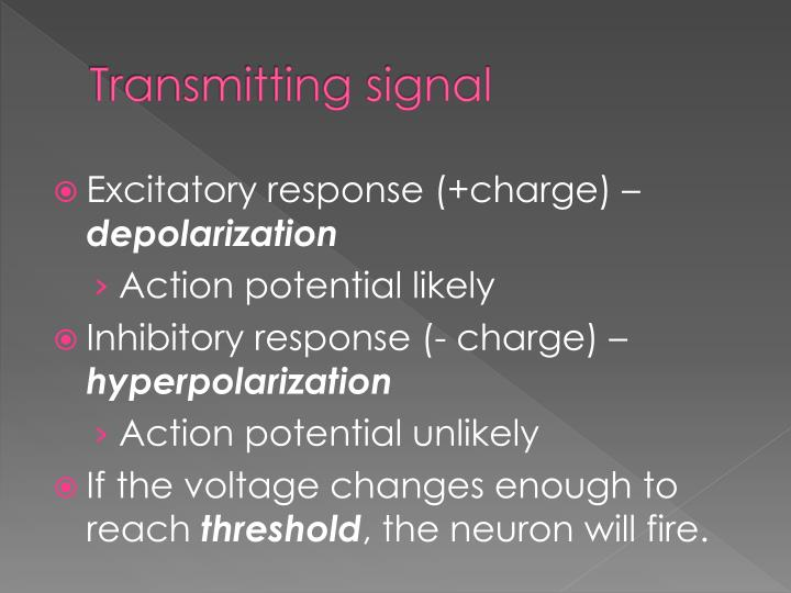 Transmitting signal
