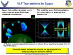 vlf transmitters in space