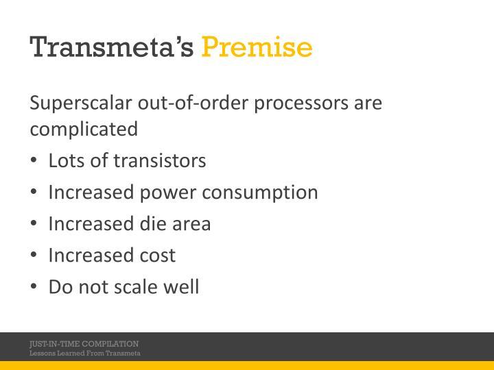 Transmeta's