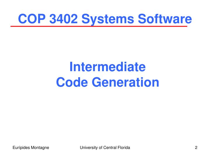 Cop 3402 systems software1
