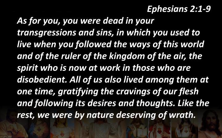 Ephesians 2:1-9