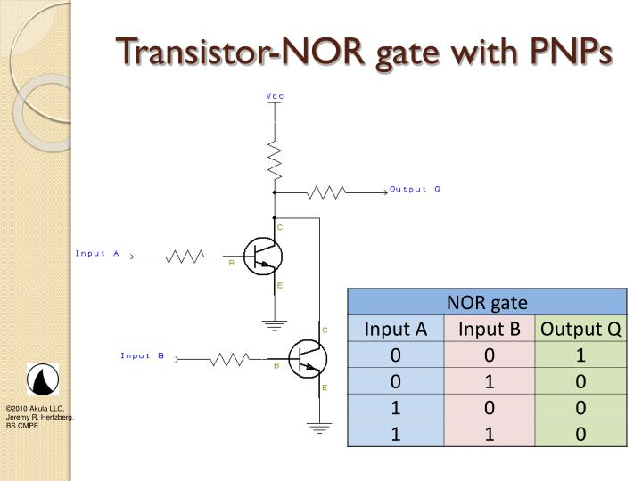 Transistor-NOR