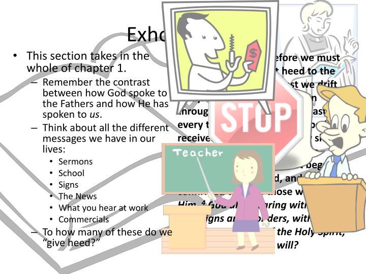 Exhortation!
