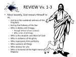 review vv 1 3