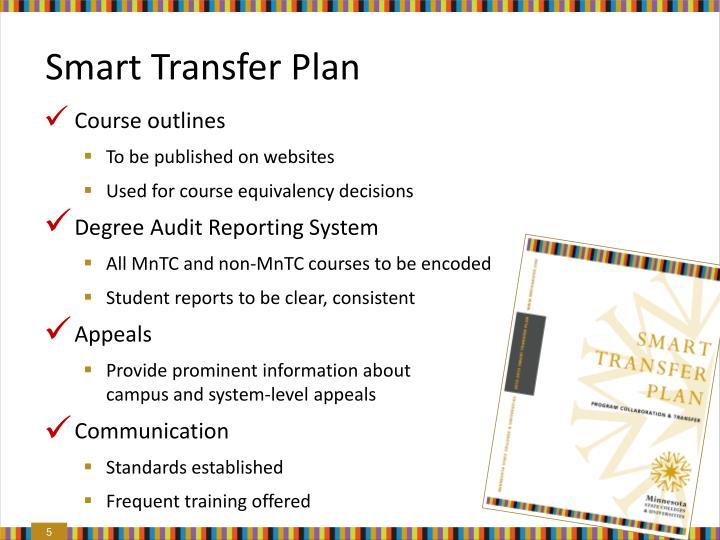 Smart Transfer Plan