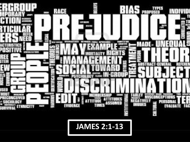 JAMES 2:1-13