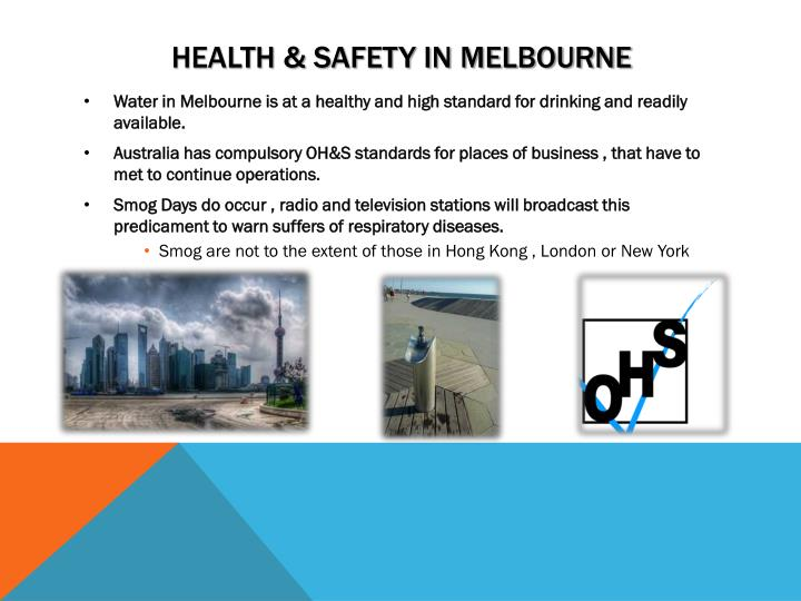 Health & Safety In Melbourne