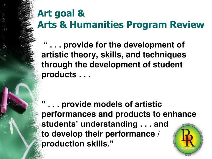 Art goal &