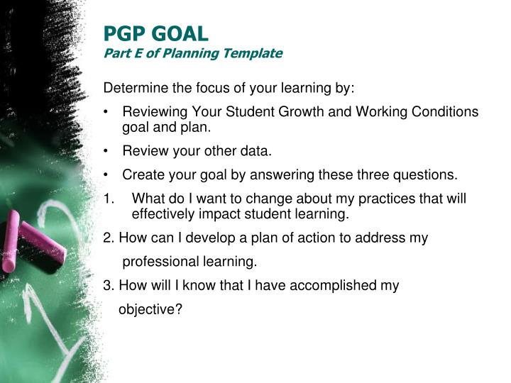 PGP GOAL