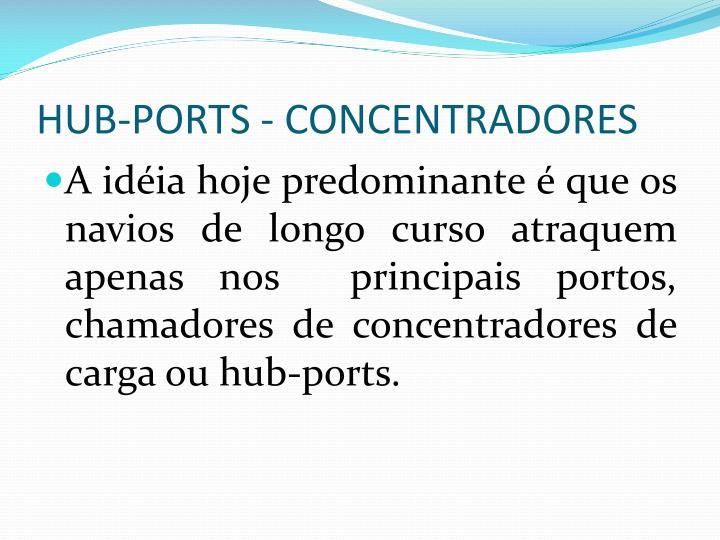 HUB-PORTS - CONCENTRADORES