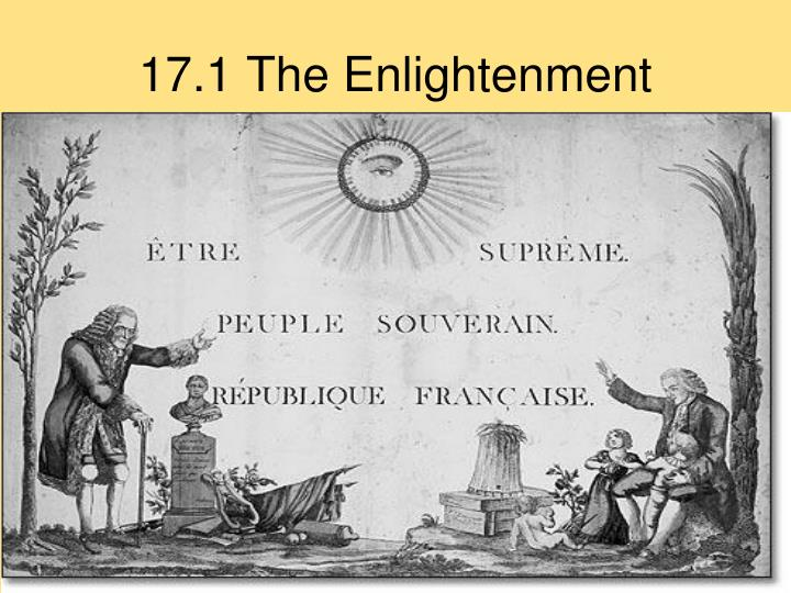17.1 The Enlightenment