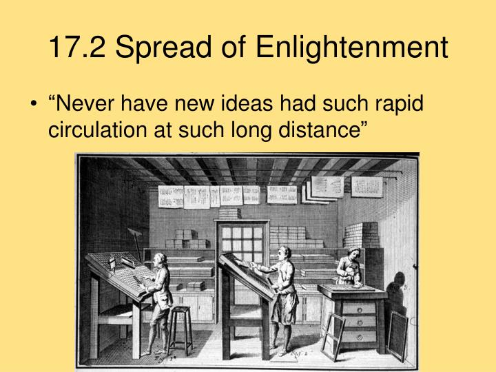 17.2 Spread of Enlightenment