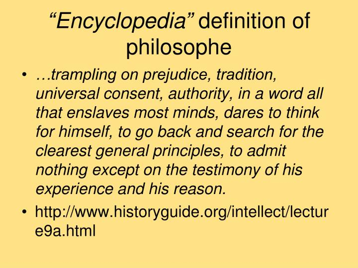 """Encyclopedia"""
