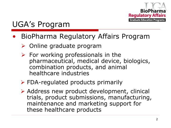 UGA's Program