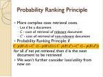 probability ranking principle1
