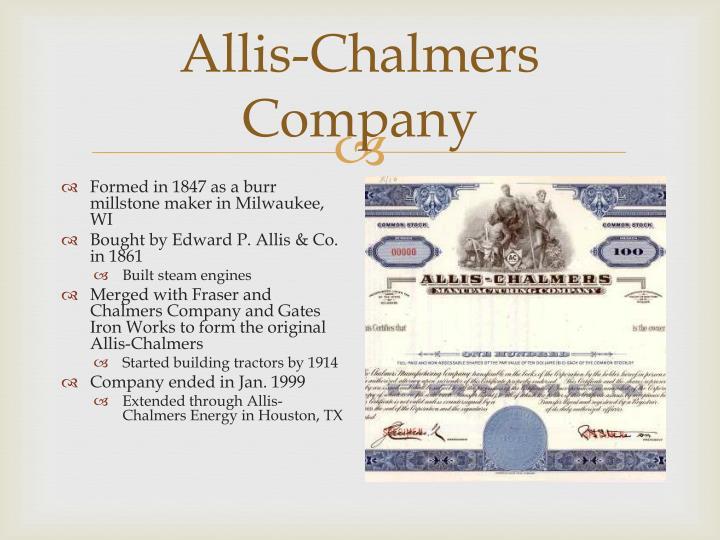 Allis-Chalmers Company