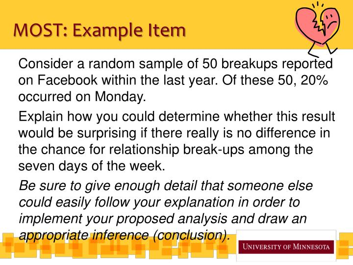 MOST: Example Item