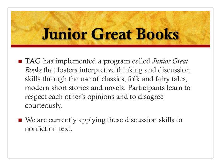 Junior Great Books
