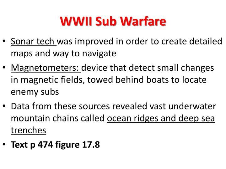 WWII Sub Warfare