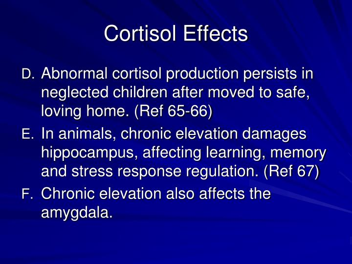 Cortisol Effects