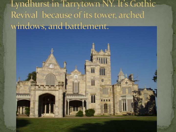 Lyndhurst in Tarrytown NY.