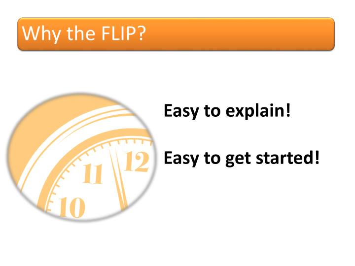 Why the FLIP?
