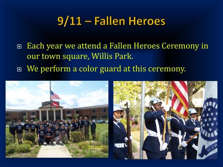 9/11 – Fallen Heroes