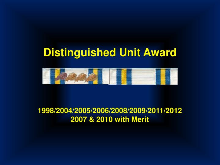 Distinguished Unit Award